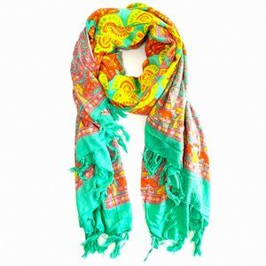 Back from Bali Wrap Scarf